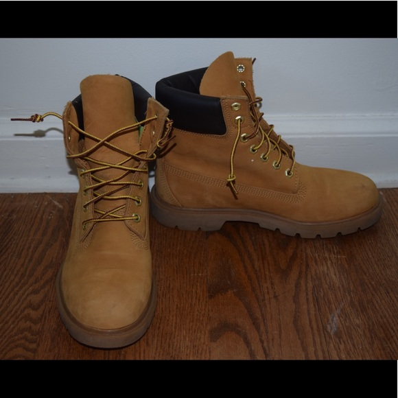 6 Inch Basic Waterproof Boots w Padded Collar